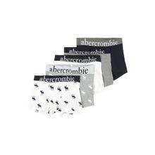 Abercrombie & Fitch Boxershorts grau / schwarz / weiß