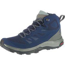 Salomon Outline MID GTX® Medieval  Trekkingstiefel blau/grau Herren