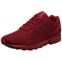 adidas ZX Flux, Unisex-Erwachsene Sneakers, Rot (Power Red/Power Red/Collegiate Burgundy), 44 EU