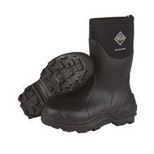 Muck Boots Unisex-Erwachsene Muckmaster Mid Gummistiefel, Schwarz (Black/Black), 44/45 EU