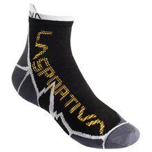 La Sportiva - Long Distance Socks - Laufsocken Gr L;M;S schwarz;schwarz/grau;schwarz/lila