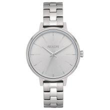 Nixon Uhr 'Medium Kensington' silber