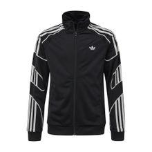 ADIDAS ORIGINALS Sweatjacke schwarz / weiß