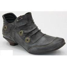Mustang Damen Schuhe Boots in Übergrößen 1001-901-776 Bootsschuhe Größe 43 Farbe Schlamm