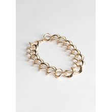 Chain Choker Necklace - Gold