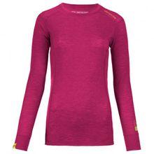 Ortovox - Women's Merino Ultra 105 Long Sleeve - Merinounterwäsche Gr L;M;S;XL;XS schwarz;rot