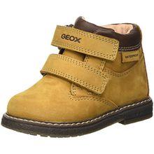Geox Baby Jungen B Glimmer Boy WPF A Stiefel, Gelb (Biscuit/DK BROWNC5B6R), 22 EU