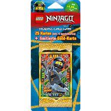 LEGO NINJAGO Serie 4 Blister mit 5 Booster + LE Card