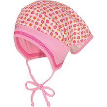 Kopftuch zum Binden  pink/weiß Mädchen Baby