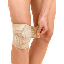 Kniegelenk-Stützbandage mit Fixierbändern