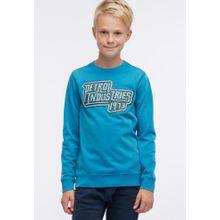 Petrol Industries Sweater neonblau