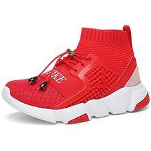 Unisex-Kinder Sneakers Jungen Mädchen Sneaker Outdoor Schuhe Jungen Turnschuhe Laufschuhe Schnürer Freizeit Schnürer Sportschuhe Sneaker