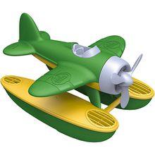 Wasserflugzeug gelb/grün
