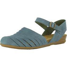 EL NATURALISTA Klassische Sandalen hellblau Damen