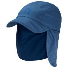 Jack Wolfskin - Supplex Canyon Cap Kids - Cap Gr S blau
