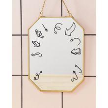 MOXON – All About Me – Sticker für den Spiegel-Mehrfarbig