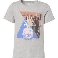 T-Shirt  grau Mädchen Kinder