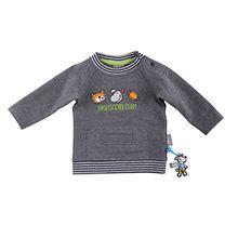 Sigikid Baby-Jungen Sweatshirt, Grau (Melange Abk78 80), 86