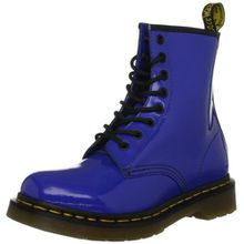 Dr. Martens 1460 Patent ROYAL BLUE, Damen Stiefel, Blau (Blue), 38 EU (5 Damen UK)