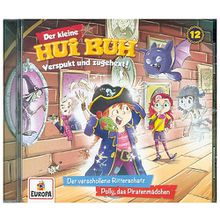 Der kleine Hui Buh 12/Der verschollene Ritterschatz/Polly, das Piratenmädchen, 1 Audio-CD Hörbuch