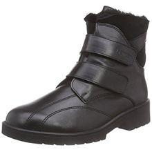 Ganter Ellen-Stiefel, Weite G, Damen Kurzschaft Stiefel, Schwarz (Schwarz 0100), 39 EU (6 Damen UK)