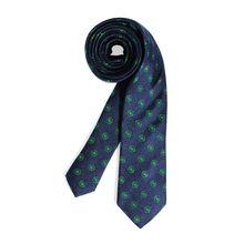 Milano Krawatte in blau für Herren