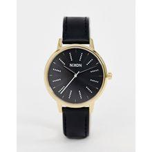 Nixon - Kensington - Uhr mit Lederarmband, 37 mm - Schwarz