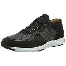 Ganter Gianna, Weite G, Damen Damen Sneakers, Schwarz (Schwarz 0100), 40 EU (6.5 UK)