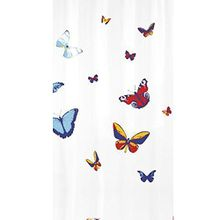 Kleine Wolke 5223148305 Duschvorhang Farfalla, 180 x 200 cm, multicolor