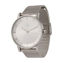 ADIDAS ORIGINALS Uhr 'District_M1' silber