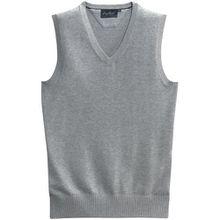 Hakro Women V Pullunder Premium Cotton, grau-meliert, 2XL