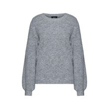 OBJECT Pullover Pullover hellgrau Damen