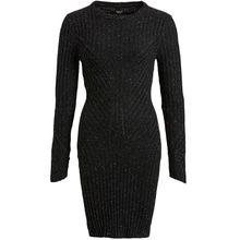 khujo Kleid LICIA Strickkleider schwarz Damen