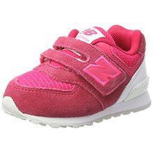 New Balance Unisex-Kinder Sneaker, Pink (Pink/White), 28.5 EU (10.5 UK Child)