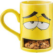 """Keks-Becher """"Mug Monster"""" gelb"""