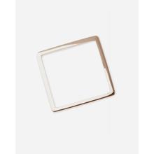 By Boe Ring Square Shape vergoldet - Gold / 55