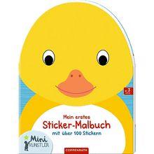 Buch - Mein erstes Sticker-Malbuch: Ente