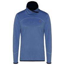 TAO Sportswear Damen langarm Funktionsshirt mit Stehkragen TURTLE NECK Funktionsshirts hellblau Damen