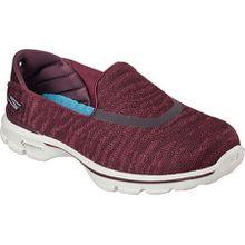 Skechers , Damen Sneaker rot bordeaux, rot - bordeaux - Größe: 40