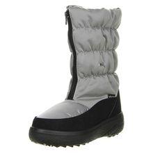 Vista Damen Winterstiefel Snowboots silber hellgrau Damen