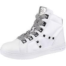 bugatti Sneakers High weiß Damen