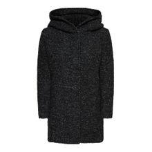 ONLY Mantel schwarzmeliert