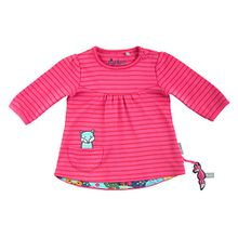 Sigikid Baby-Mädchen Langarmshirt, Rosa (Hot Pink 632), 68