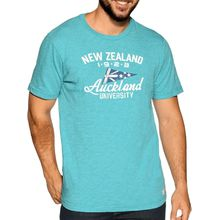 New Zealand Auckland T-Shirt in grün für Herren