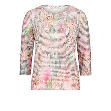 Betty Barclay Basic-Shirt mit Wellenstruktur rosa Damen