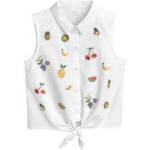 NEXT Bluse mischfarben / weiß