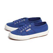 Superga 2750 Cotu Classic, Unisex-Erwachsene Sneaker, Blau (Intense Blue G88), 39 EU (5.5 UK)