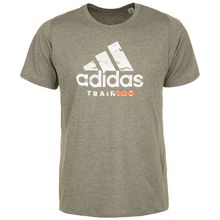 adidas Performance FreeLift Logo Graphic Trainingsshirt Herren grün Herren