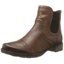Remonte Damen D4396 Chelsea Boots, Braun (Mahagoni), 41 EU