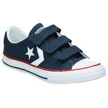 Converse Unisex-Kinder Star Player EV V Canvas-A2 Sneaker, Marine, 32 EU